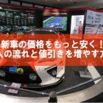【自動車】新車の価格をもっと安く!購入の流れと値引きを増やす方法